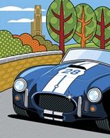Pittsburgh Vintage Grand Prix Fine Art Print