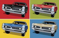 1967 GTO Classic Car Fine Art Print