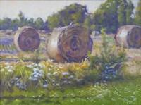 Hay Stacks Fine Art Print