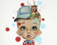 Connor Reindeer Keeper - MunchkinZ Elf Fine Art Print