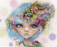 Eliza Easter Elf - MunchkinZ Elf Fine Art Print