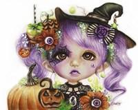 Halloween Hannah - MunchkinZ Fine Art Print