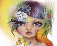 Rainbow Rosalie - MunchkinZ Elf Fine Art Print