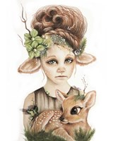 Faline - Only Friend In The World Fine Art Print
