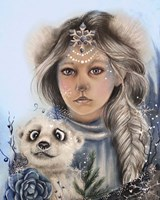 Polar Precious - Only Friend In The World Fine Art Print