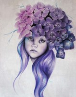 Hydrangea - Pixie Blossoms Fine Art Print