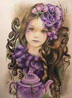 Lavender - Tea Series Fine Art Print