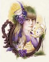Lavender Honey - Tea Series Fine Art Print
