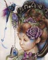 Tea & PeriWinkle - Tea Series Fine Art Print