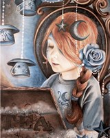 Tea In The Moonlight - Tea Series Fine Art Print