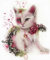 Love Is In The Air (Kitty) Fine Art Print