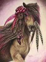 Magenta Warrior Fine Art Print