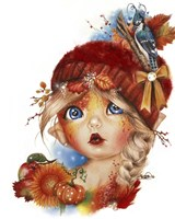 Autumn Anna - MunchkinZ Fine Art Print