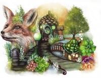 Fox Cottage Fine Art Print