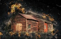 Crazy Barn Fine Art Print