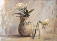 White Blooms Fine Art Print