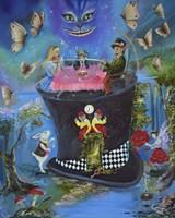 Alice In Fantasyland Framed Print