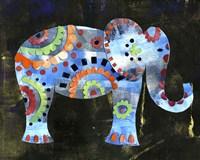 Boho Elephant 1 Framed Print