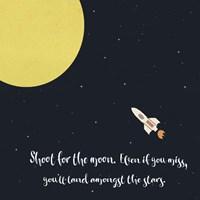 Shoot for the Moon Fine Art Print