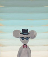 Hipster Mouse Fine Art Print