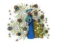 Percival Peacock Fine Art Print