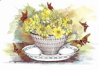Spring In A Teacup Fine Art Print