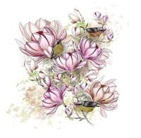Glorious Magnolia Days Fine Art Print