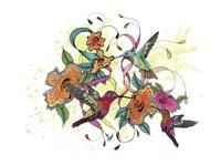 Hummingbird Days Fine Art Print