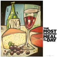 Most Imported Meal Fine Art Print