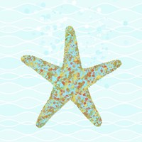 Stella Starfish Framed Print