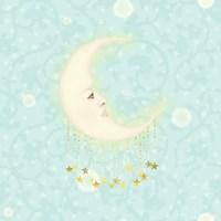 Serene Luna Fine Art Print