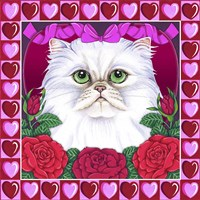 Valentines Persian Fine Art Print