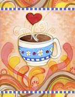 Cup Of Love Fine Art Print