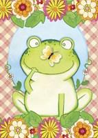 Butterfly Frog Fine Art Print