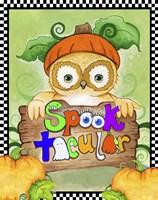 Spooktacular Owl Fine Art Print