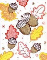Acorn Rain Fine Art Print