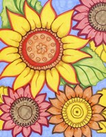 Sunflower Zen Fine Art Print