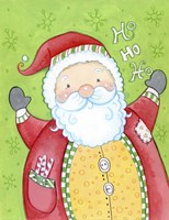 Happy Santa Fine Art Print
