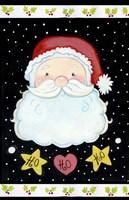 Ho Ho Santa Claus Fine Art Print