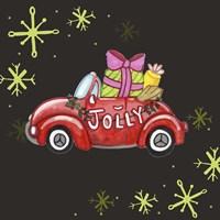 Jolly Car Fine Art Print
