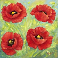 Poppies B Fine Art Print
