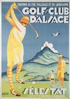 Alsace Golf Fine Art Print