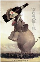 Elephant Beer Fine Art Print