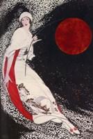 Fishing for the moon Fine Art Print