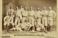 Metro Baseball Fine Art Print
