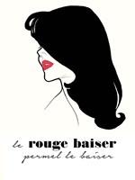 Rouge Baiser Fine Art Print