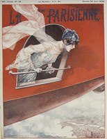 Artdeco Airplane Lavie Parisienne Fine Art Print