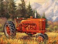 Rancher's Cadillac Fine Art Print