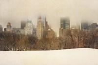 Foggy Central Park Fine Art Print