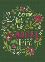 Adore Him Fine Art Print